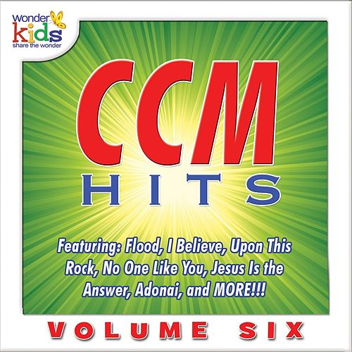 Contemporary Christian Music Hits, Vol. 6 by Wonder Kids