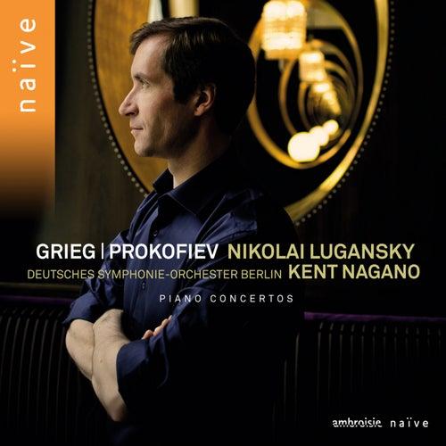 Prokofiev, Grieg: Piano Concertos by Nikolai Lugansky