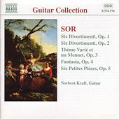 Guitar Music Opp. 1 - 5 by Fernando Sor