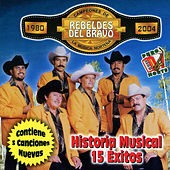 Historia Musical 15 Exitos by Los Rebeldes del Bravo