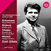 Play & Download Schumann, Brahms, Chopin & Mozart: Piano Works by Emil Gilels | Napster