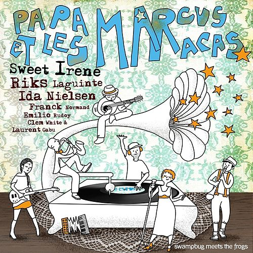 Swampbug Meets the Frogs (feat. Sweet Irene) by Riks Laguinte