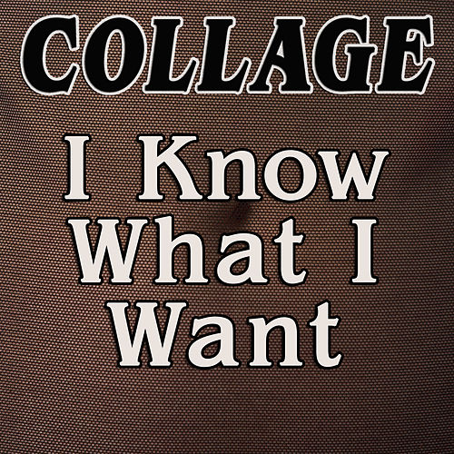 I Know What I Want by Collage