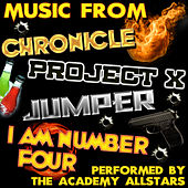 Music from Chronicle, Project X, Jumper & I Am Number Four by Academy Allstars