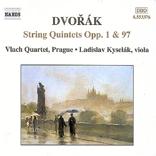 String Quintets Opp. 1 and 97 by Antonin Dvorak