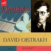 Play & Download Shostakovich: October & Violin Concerto No. 2 by David Oistrakh | Napster