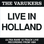 Live In Holland by Varukers