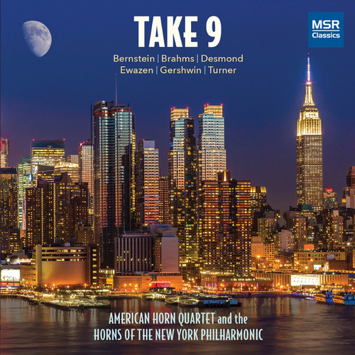 Play & Download Take 9 - Music for Horns by The Horns of the New York Philharmonic | Napster