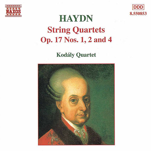 String Quartets Op. 17 Nos, 1, 2, and 4 by Franz Joseph Haydn