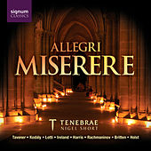 Play & Download Allegri Miserere by Tenebrae | Napster