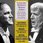 Sviatoslav Richter's Boston Debut by Various Artists