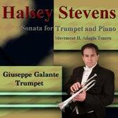 Halsey Stevens: Sonata for Trumpet and Piano: II. Adagio Tenero by Giuseppe Galante