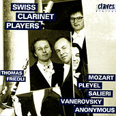 Classical Works for Clarinet Ensemble by Thomas Friedli