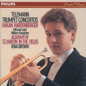 Telemann: Trumpet Concertos by Håkan Hardenberger