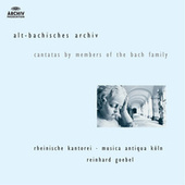 J.M. Bach, G.C. Bach,  J.C. Bach: Cantatas by members of the Bach family by Various Artists