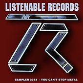 Listenable 2013 Winter Sampler (You Can't Stop Metal) von Various Artists