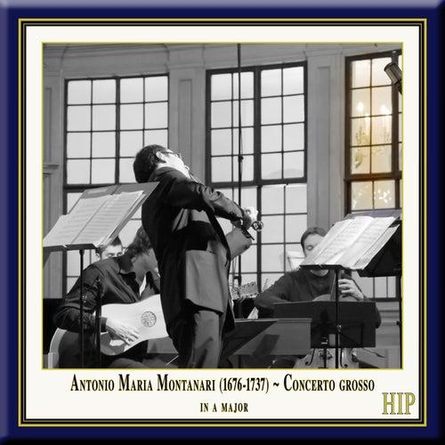Montanari: Concerto Grosso in A Major by European Union Baroque Orchestra