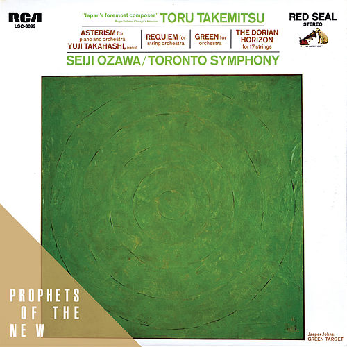 Toru Takemitsu: The Dorian Horizon, Green, etc. by Various Artists