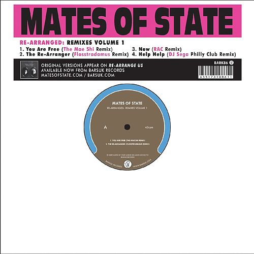 Play & Download Re-Arranged: Remixes Volume 1 by Mates of State | Napster