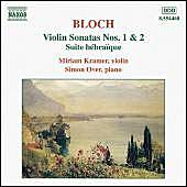 Play & Download Violin Sonatas Nos. 1 and 2 / Suite Hébraïque by Ernest Bloch | Napster
