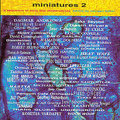 Miniatures 2 Edited By Morgan Fisher by Various Artists