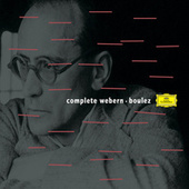 Play & Download Boulez conducts Webern by Various Artists | Napster