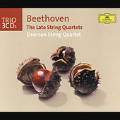 Beethoven: The Late String Quartets by Emerson String Quartet