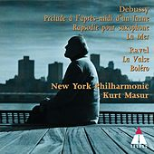 Debussy & Ravel : Orchestral Works by Kurt Masur