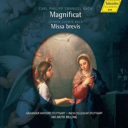 Play & Download C.P.E. Bach: Magnificat, Wq. 215 - J.L. Bach: Missa brevis by Various Artists | Napster
