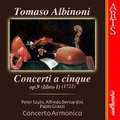 Bach: Concerti A Cinque, Op. 9 - Libro I by Concerto Armonico, Peter Szüts, Alfredo Bernardini & Paolo Grazzi