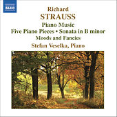 Play & Download STRAUSS, R: Piano Sonata / 5 Piano Pieces / Stimmungsbilder by Stefan Veselka | Napster