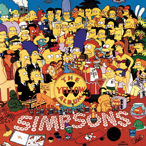 Play & Download The Yellow Album by The Simpsons | Napster