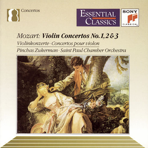 Mozart: Concertos Nos. 1-3 for Violin and Orchestra by The Saint Paul Chamber Orchestra