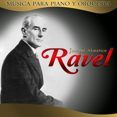 Play & Download Joseph Maurice Ravel. Música para piano y para orquesta by Hamburg Radio Orchestra | Napster