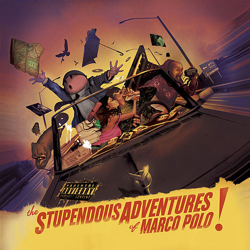 The Stupendous Adventures of Marco Polo by Marco Polo