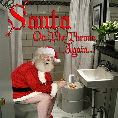 On the Throne Again by Santa