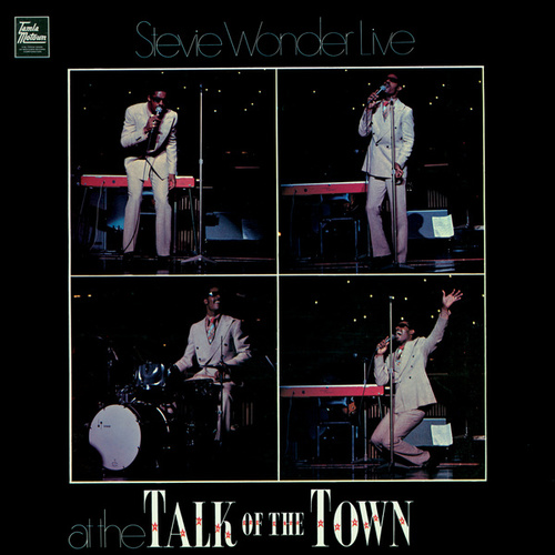 Live At Talk Of The Town by Stevie Wonder