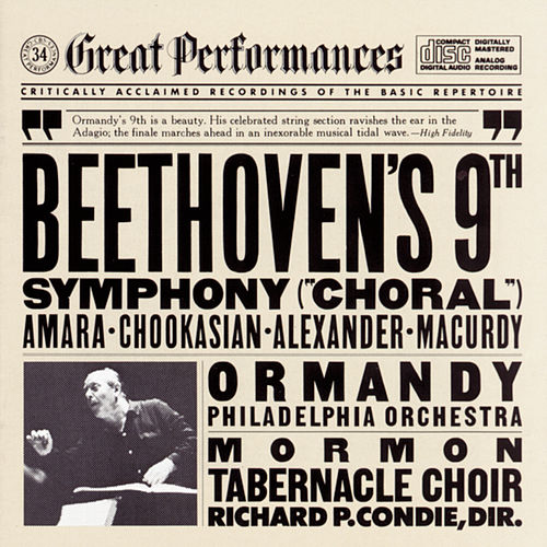 Beethoven: Symphony No. 9 in D minor, Op. 125 'Choral' by The Mormon Tabernacle Choir