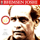 Concert Recording Of The 1960's Volume 3 by Bhimsen Joshi