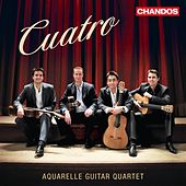 Play & Download Cuatro by Aquarelle Guitar Quartet | Napster