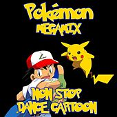 Pokémon  Megamix Non Stop  Dance Cartoon by Rainbow Cartoon