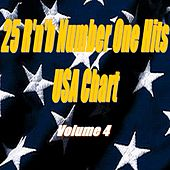 25 R'n'b Number One Hits : USA Chart, Vol. 4 von Various Artists