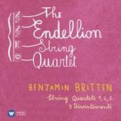 Britten: String Quartets Nos 1-3 & 3 Divertimenti by Endellion String Quartet