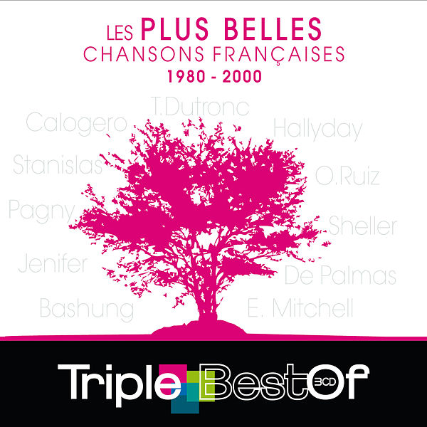 triple best of les plus belles chansons francaises de various artists napster. Black Bedroom Furniture Sets. Home Design Ideas