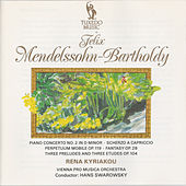 Mendelssohn: Piano Concerto No. 2 in D Minor, Op. 40 - Scherzo a capriccio in F Sharp-Minor - Perpetuum mobile, Op. 119 - Fantasy in F Sharp-Minor, Op. 28 by Vienna Pro Musica Orchestra