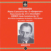 Play & Download Vladimir Horowitz Plays Beethoven and Czerny by Vladimir Horowitz | Napster
