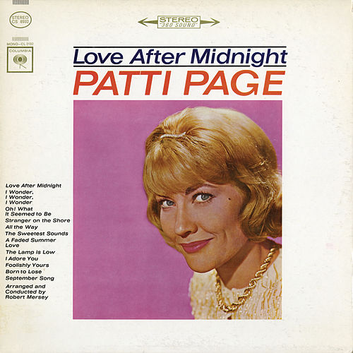 Love After Midnight by Patti Page