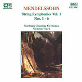 String Symphonies Nos. 1-6 by Felix Mendelssohn