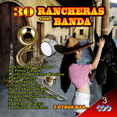 Play & Download Rancheras Con Banda by Various Artists | Napster