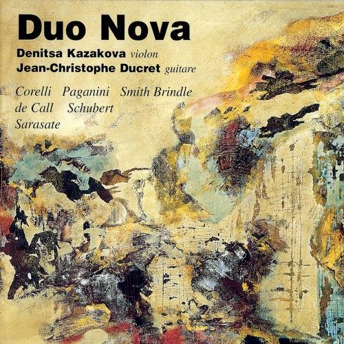 Play & Download Corelli: Violin Sonata in E Minor, Op. 5, No. 8 – Paganini: Centone di Sonate, Op. 64, No. 1, MS 112 – Brindle: Sketches (5) – von Call: Serenade, Op. 84 – Schubert: 36 Originaltänze, Op. 9, D.365 & Sarasate: Romanza Andaluza, Op. 22 by Jean-Christophe Ducret | Napster